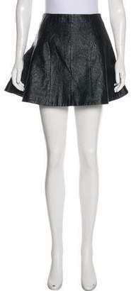 Antipodium Metallic Mini Skirt