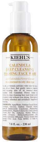 Kiehl's Calendula Deep Cleansing Foaming Face Wash, 7.8 oz