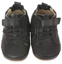 First Kicks Asher Athletic Sneaker in Black