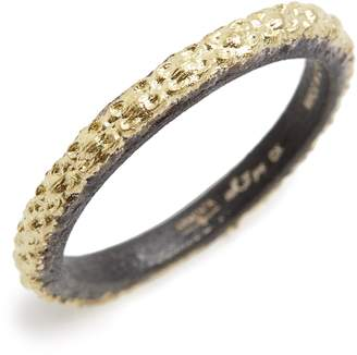 Armenta Old World Textured Stack Ring