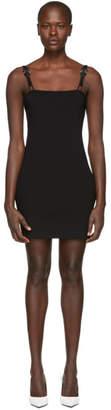 1017 Alyx 9SM Black Short Rollercoaster Buckles Dress