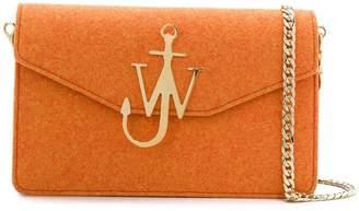 J.W.Anderson Carrot Felt Logo Purse