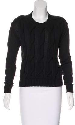 Lanvin Cable Knit Sweater
