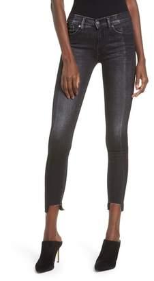 Hudson Nico Step Hem Crop Super Skinny Jeans
