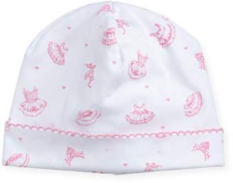 Kissy Kissy Tiny Tutus Print Pima Baby Hat