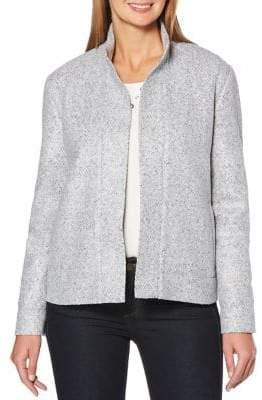 Rafaella Boucle Tweed Jacket