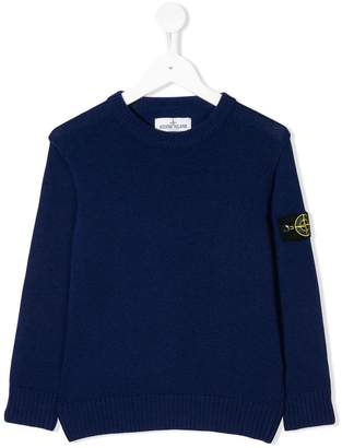 Stone Island Junior round neck sweater