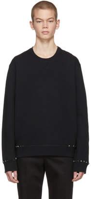 Valentino Black Rockstud Untitled 08 Sweatshirt