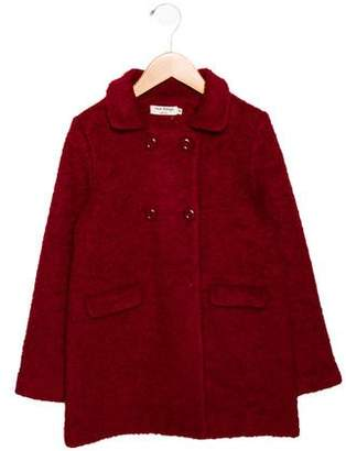 Nice Things Girls' Wool Blend Coat