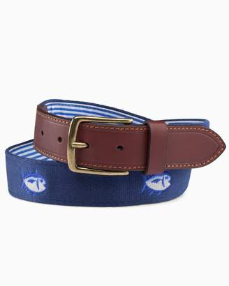 DAY Birger et Mikkelsen Southern Tide Embroidered Skipjack Belt