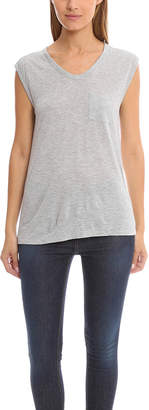 Alexander Wang Muscle Tee w/ Mini Pocket