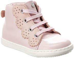 Jacadi Laetitia Leather High Top Sneaker