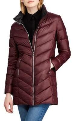 Lauren Ralph Lauren Chevron Quilted Jacket