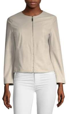 Escada Sport Lamar Lambskin Leather Jacket