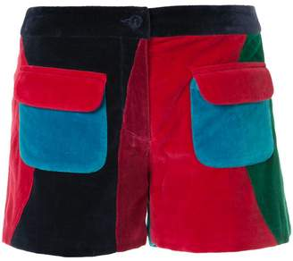Manish Arora patch pocket shorts
