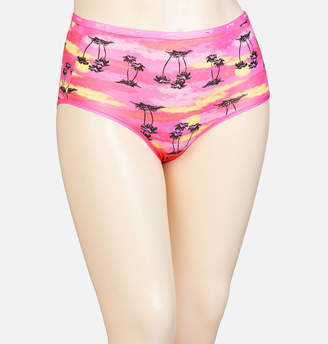 Avenue Palm Tree Cotton Full Brief Panty
