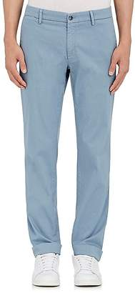 Barneys New York MEN'S CORDED STRETCH-COTTON SLIM CHINOS