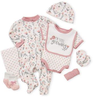 Baby Gear Newborn Girls) 9-Piece Floral Hanging Gift Set