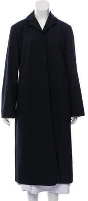 Calvin Klein Wool Button-Up Coat