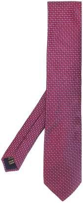 Corneliani zigzag pattern tie