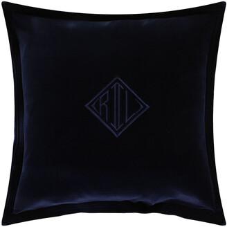 Ralph Lauren Home Velvet Cushion Cover - 50x50cm - Navy