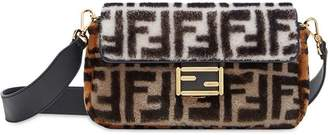 Fendi colour block monogram Baguette bag