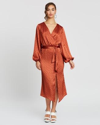 Finders Keepers Emilia Long Sleeve Dress