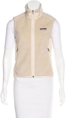 Patagonia Textured Zip-Up Vest $75 thestylecure.com