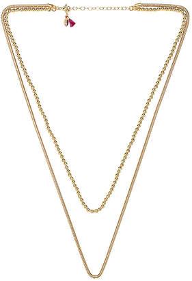 Shashi Double Necklace