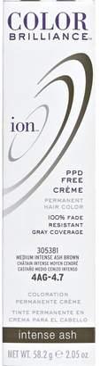 Ion 4AG Medium Intense Ash Brown Permanent Creme Hair Color