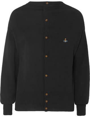 Vivienne Westwood - Embroidered Cotton Cardigan - Black