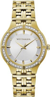 Wittnauer Women's Goldtone Diamond Accent Watch
