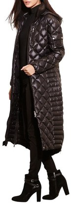 Women's Lauren Ralph Lauren Packable Quilted Down Coat $350 thestylecure.com