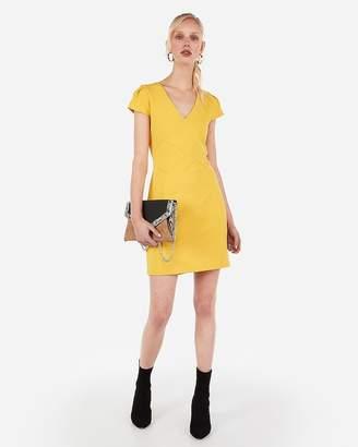 Express Tulip Sleeve Sheath Dress