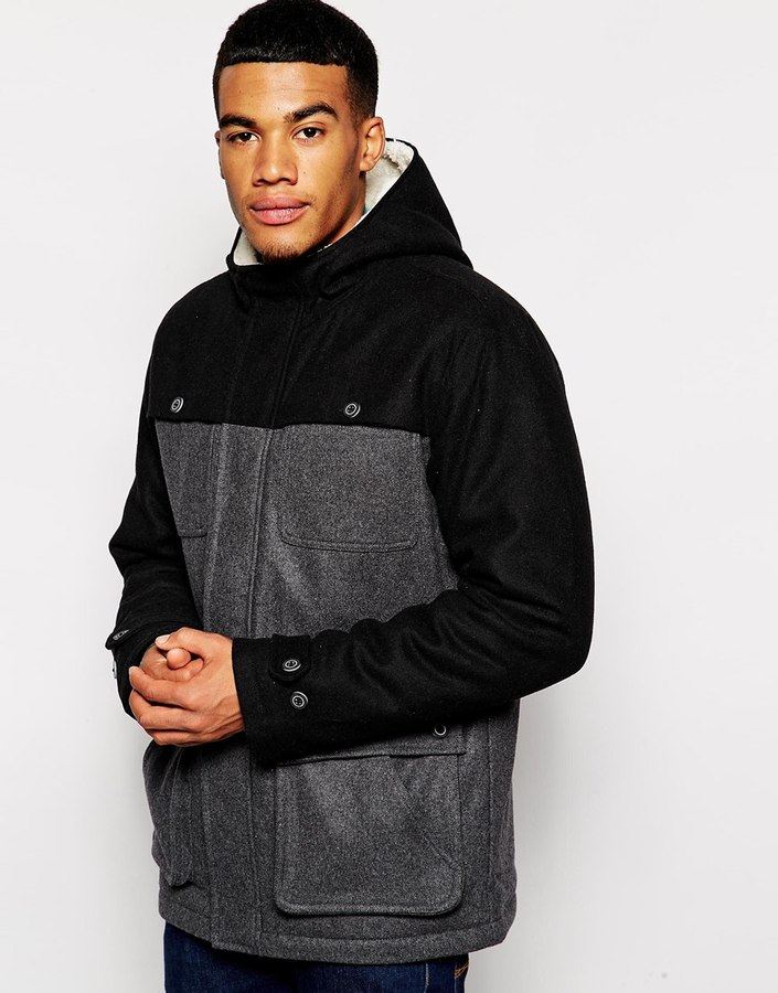 Vans Consort Wool Jacket - Black