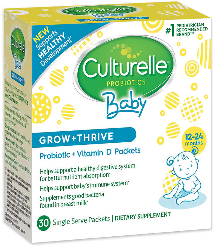 Culturelle Probiotics Grow & Thrive Probiotic & Vitamin D Packets