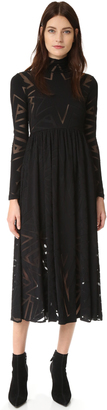 Mara Hoffman Burnout Dress $589 thestylecure.com