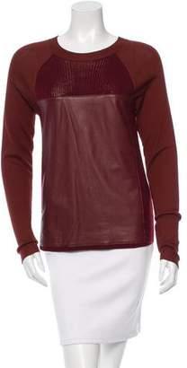 Reed Krakoff Colorblock Crew Neck Sweater