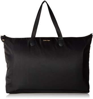 Calvin Klein Tatiana Nylon Packable Top Zip Large Tote