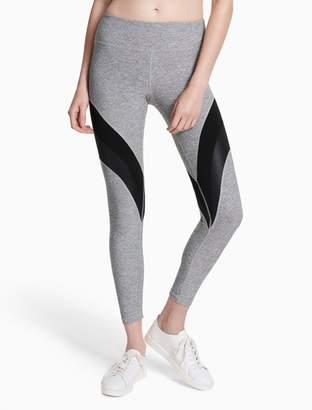 Calvin Klein curved stripe leggings