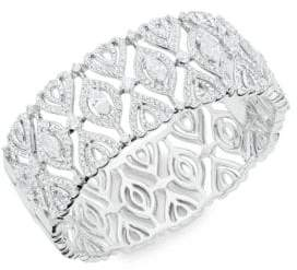 Nadri Crystal Cuff Bracelet