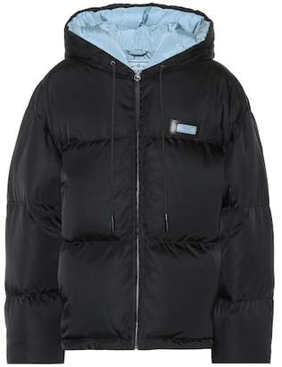 Prada Gabardine down jacket