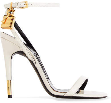 TOM FORD - Leather Sandals - Off-white