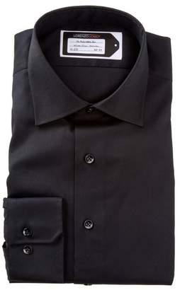 Lorenzo Uomo Oxford Trim Fit No Wrinkle Dress Shirt