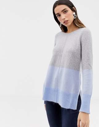 Oasis Color Block Boyfriend Sweater