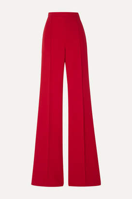 Andrew Gn Crepe Wide-leg Pants - Red