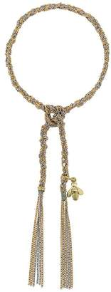 Carolina Bucci 18kt yellow and white gold Virtue charm bracelet