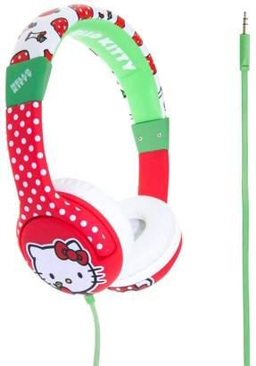Hello Kitty Apple Print Headphones