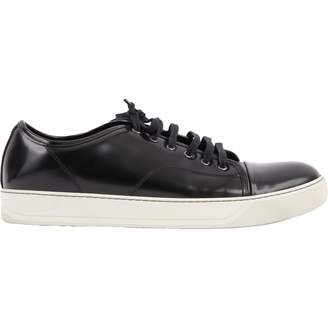 Lanvin Patent leather low trainers