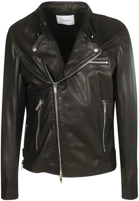 Dondup Zipped Biker Jacket